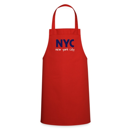 Kochschürze NYC rot - Kochschürze