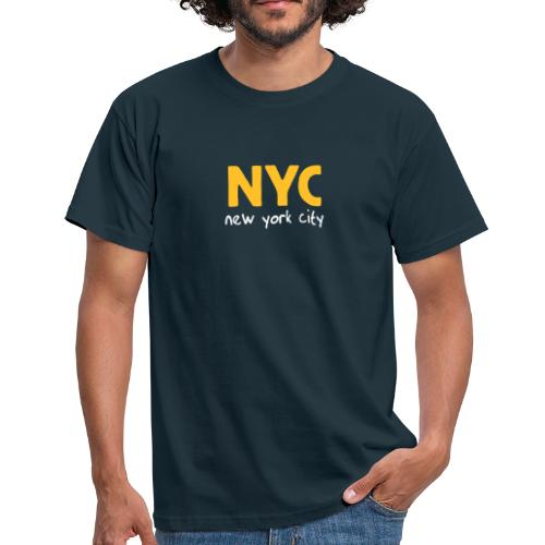 T-Shirt NYC navy - Männer T-Shirt