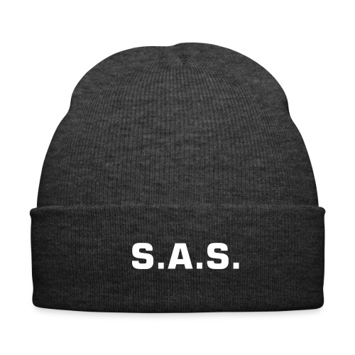 Hat with S.A.S. imprinted on it - Winter Hat