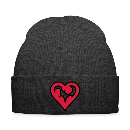 Hat with a love symbol - Winter Hat