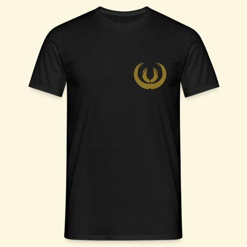 Jägershirt Saujägerabzeichen in Gold - Männer T-Shirt