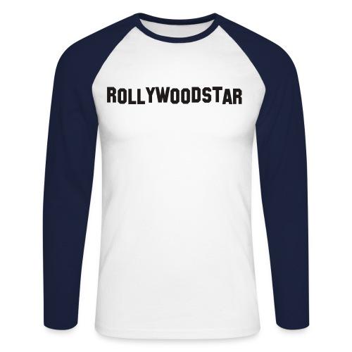 Rollywoodstar - Männer Baseballshirt langarm