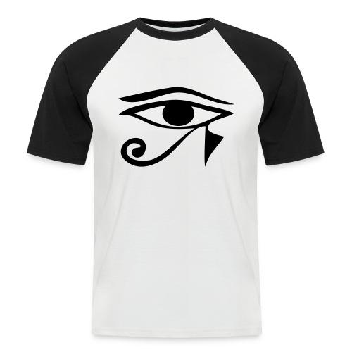 T-Shirt Horus - T-shirt baseball manches courtes Homme