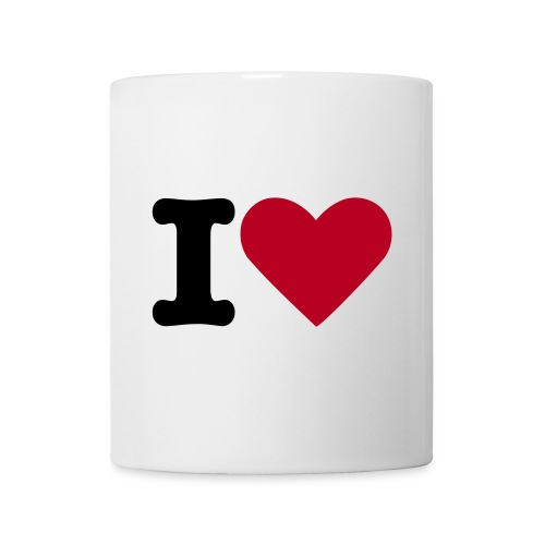 Tasse I Love You 2 - Mug blanc
