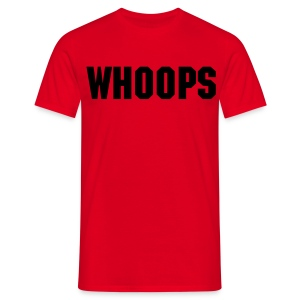 Whoops - Men's T-Shirt - Men's T-Shirt
