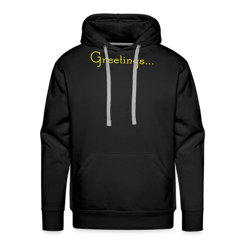 Greetings... SESH WAAN! - Men's Premium Hoodie