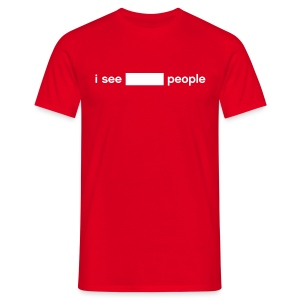 i see BLANK people (write-on) - Men's T-Shirt