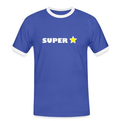 Super Star - Men's Ringer Shirt