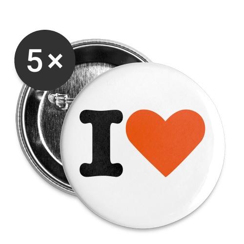LE BADGE I LOVE - Badge grand 56 mm