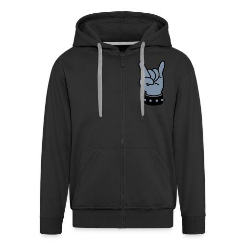 Rock On Hoodie - Men's Premium Hooded Jacket
