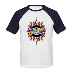 HARD-ROCK FLAMMING - T-shirt baseball manches courtes Homme