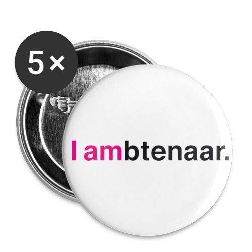 I ambtenaar Button - Buttons klein 25 mm