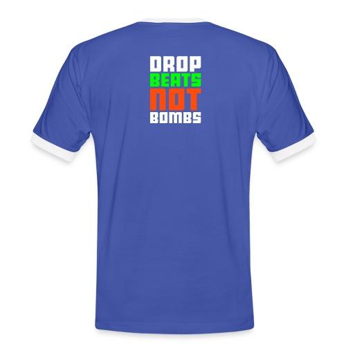 Plain Blue and White T Juve - Men's Ringer Shirt