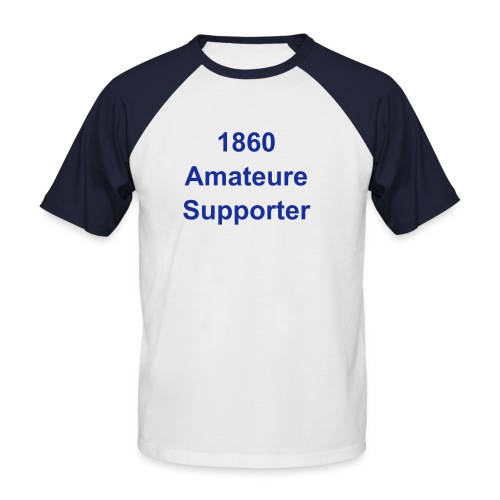 T-Shirt Amateure-Supporter - Männer Baseball-T-Shirt