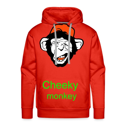 Cheeky monkey - Men's Premium Hoodie
