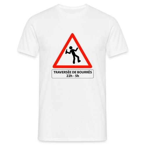attention traversée de bourrés - T-shirt Homme