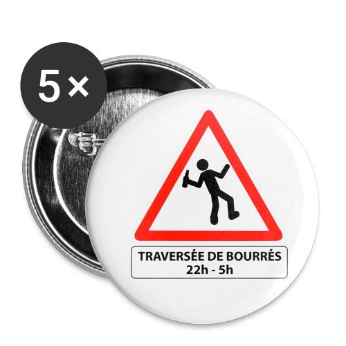 badge traversée de bourrés - Badge moyen 32 mm