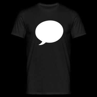 Black Speech balloon T-Shirts