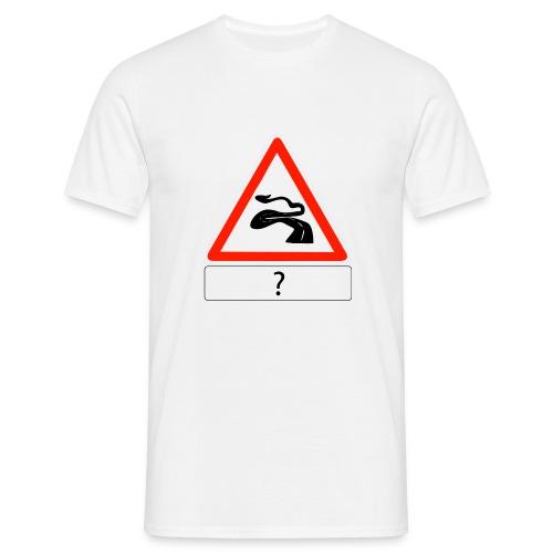 chaussée déformée - T-shirt Homme