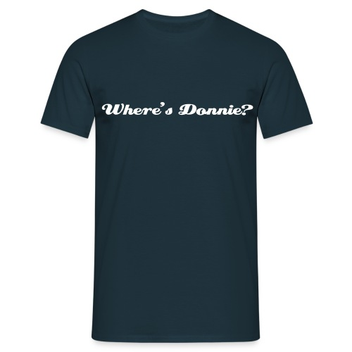 Where's Donnie? (mens) - Men's T-Shirt