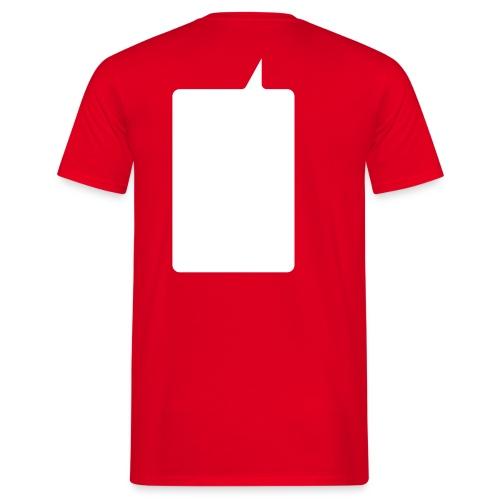 Men's T-Shirt - Writable Balloon T-shirt, designed by Studiocharlie www.studiocharlie.org