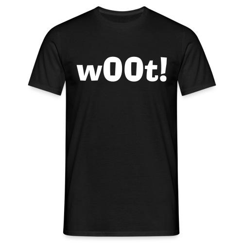 w00t! - T-skjorte for menn