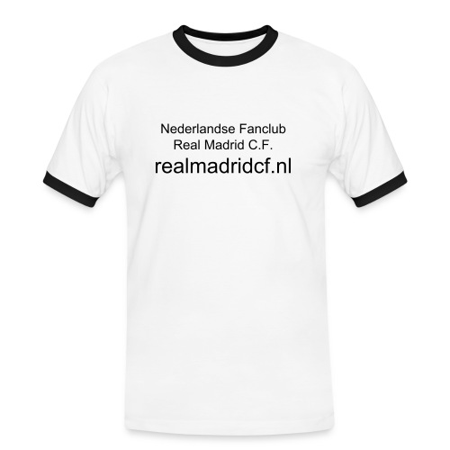 t shirt Fanclub Real Madrid - Mannen contrastshirt