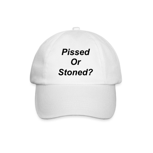 Pissed or Stoned Cap - Baseball Cap