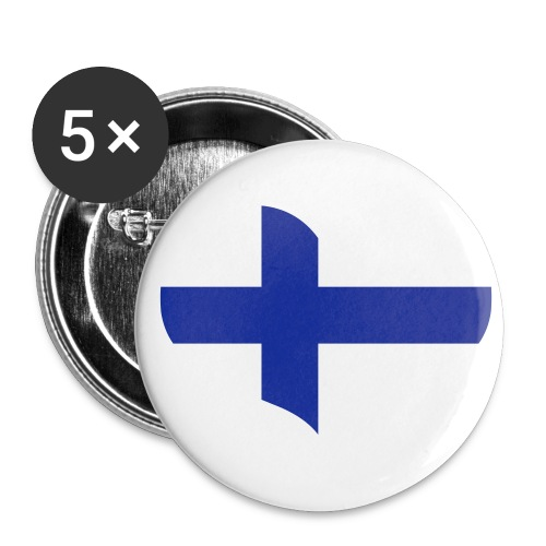 Suomi pinssi - Rintamerkit isot 56 mm (5kpl pakkauksessa)