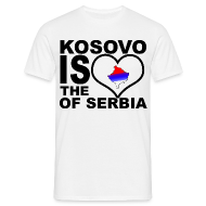 Tee shirts ~ Tee shirt Homme ~ Kosovo is the heart of Serbia