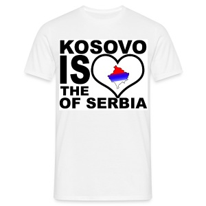Kosovo is the heart of Serbia - T-shirt Homme