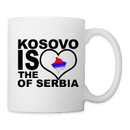 Bouteilles et Tasses ~ Tasse ~ Kosovo is the heart of Serbia