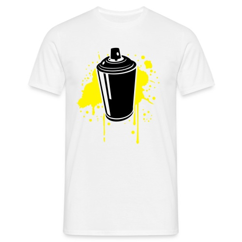 SprayCan Shirt White - Männer T-Shirt