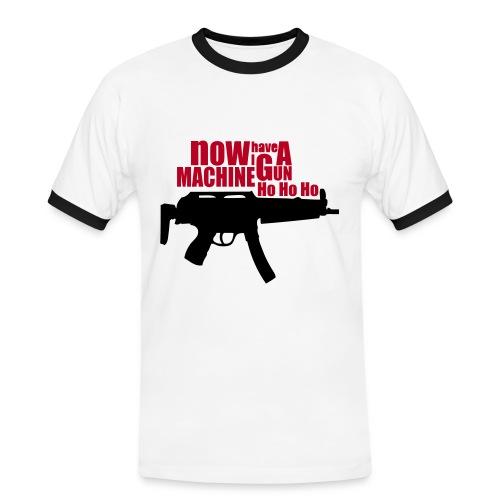 HO HO HO! - Camiseta contraste hombre