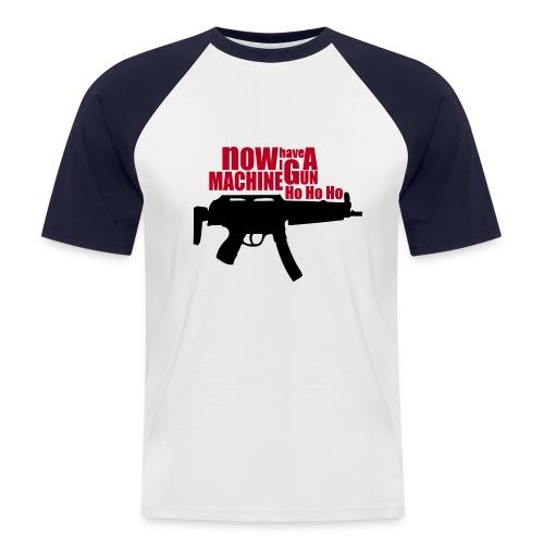 HO HO HO! - Camiseta béisbol manga corta hombre