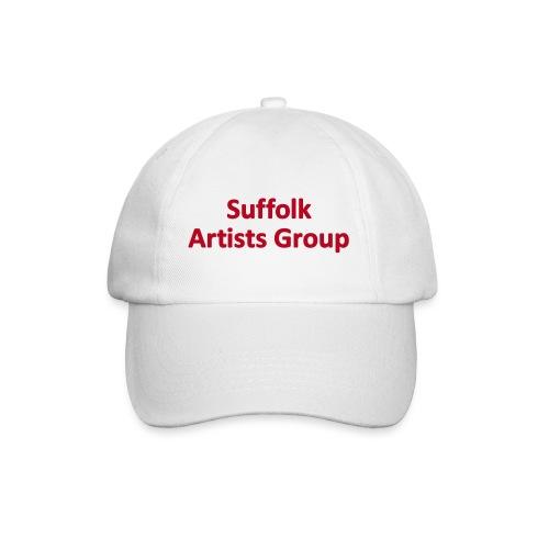 Suffolk Artists Group (White) - Baseball Cap