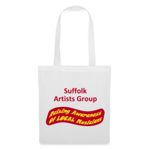 Suffolk Artists Group (White) - Tote Bag