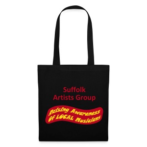 Suffolk Artists Group (Black) - Tote Bag
