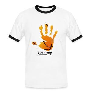 get a grip - Mannen contrastshirt