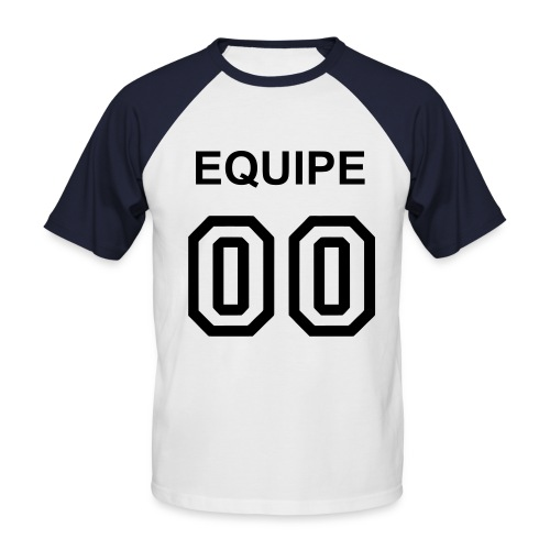 Old school 00 - T-shirt baseball manches courtes Homme