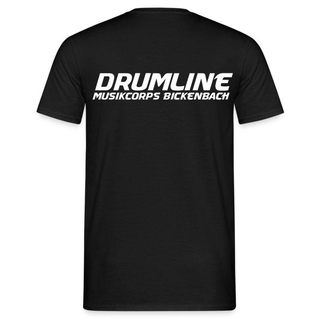 DRUMLINE T-SHIRT SCHWARZ