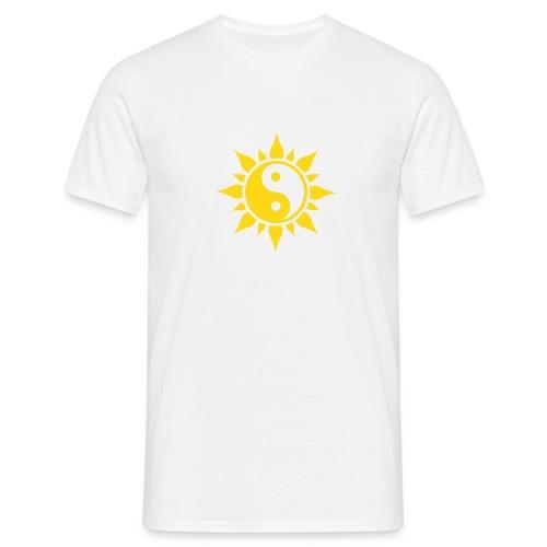 Yin Yang Flower - Männer T-Shirt