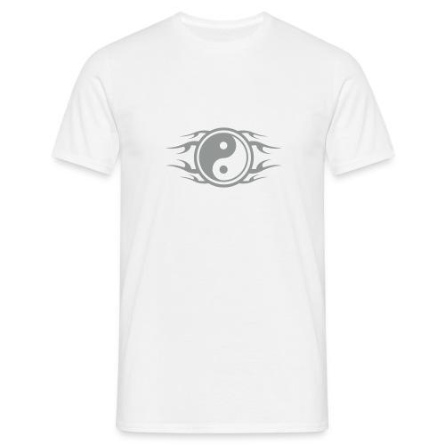 Yin Yang Flames - Männer T-Shirt