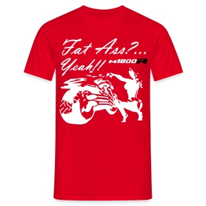 FAT_ASS_RED - Camiseta hombre
