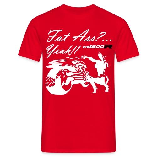 FAT_ASS_RED - Camiseta hombre