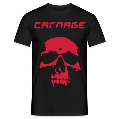 CARNAGE WHEN ITS ALL SAID AND DONE TSHIRT - Men's T-Shirt