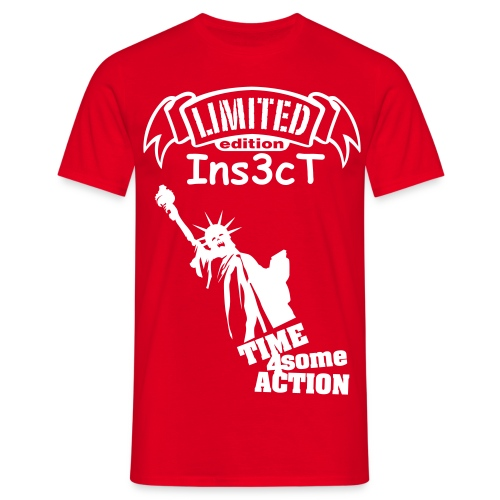 Ins3cT limited edition time 4 some action! - Men's T-Shirt