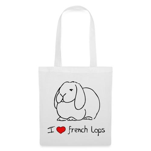 I Love French Lops - Tote Bag