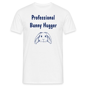 Professional Bunny Hugger - Men's T-Shirt