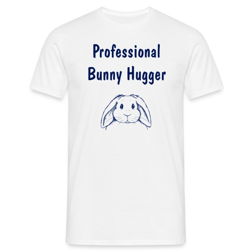 Professional Bunny Hugger - Men's T-Shirt